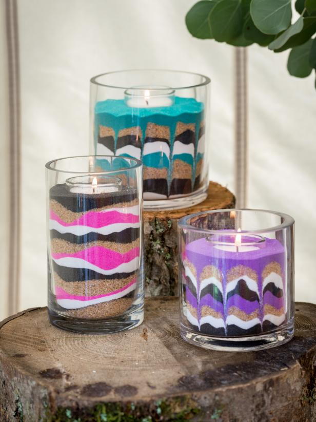 Sand Art Candle Kits Available